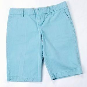 American Eagle Ladies Ice Blue Bermuda Shorts
